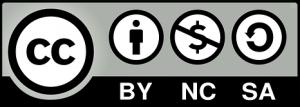 CC BY NC SA license image