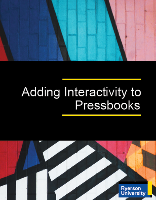 Cover image for Adding Interactivity to Pressbooks