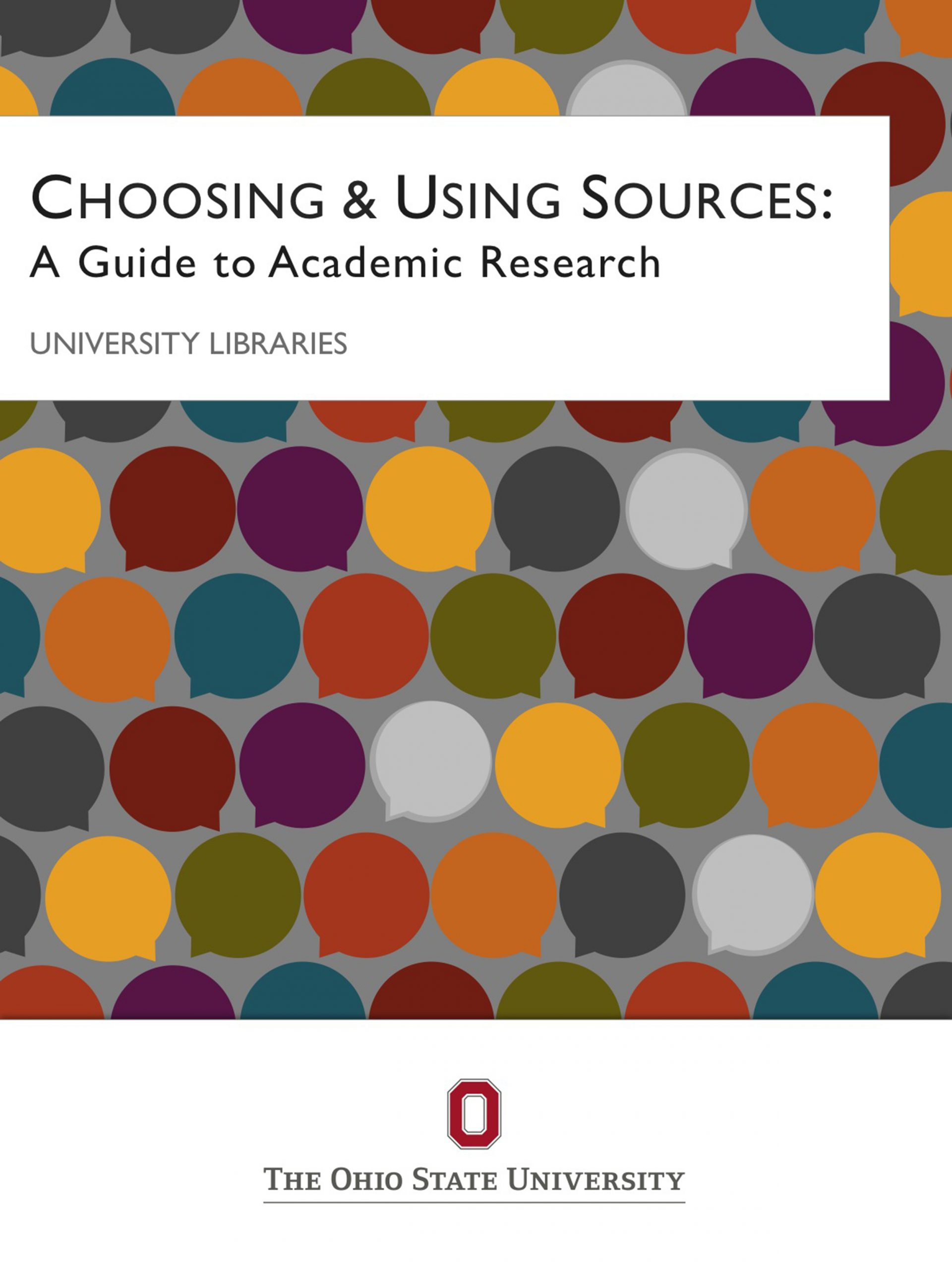 Cover image for Choosing & Using Sources: A Guide to Academic Research, 1st Canadian Edition