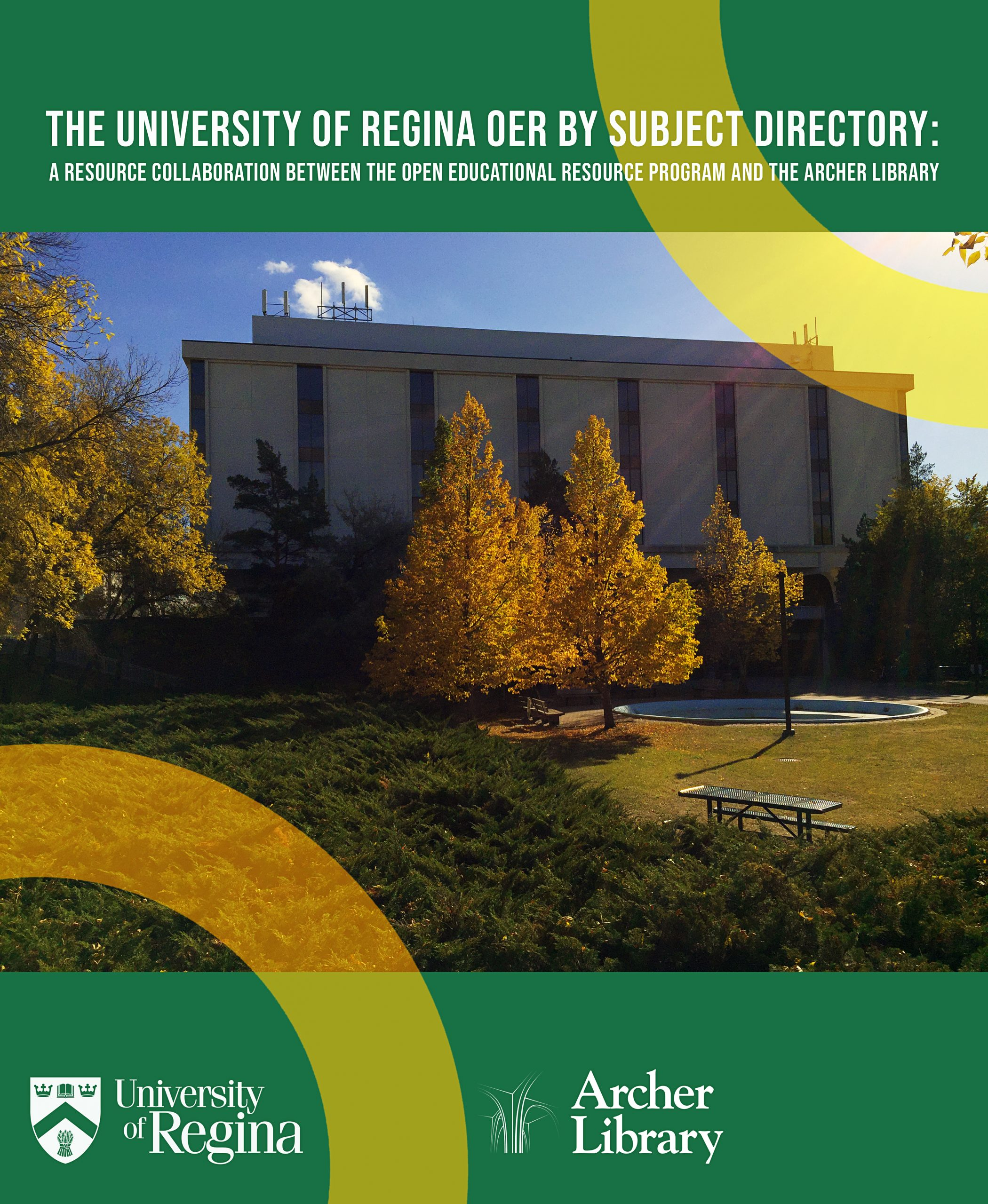 Cover image for The University of Regina OER by Subject Directory