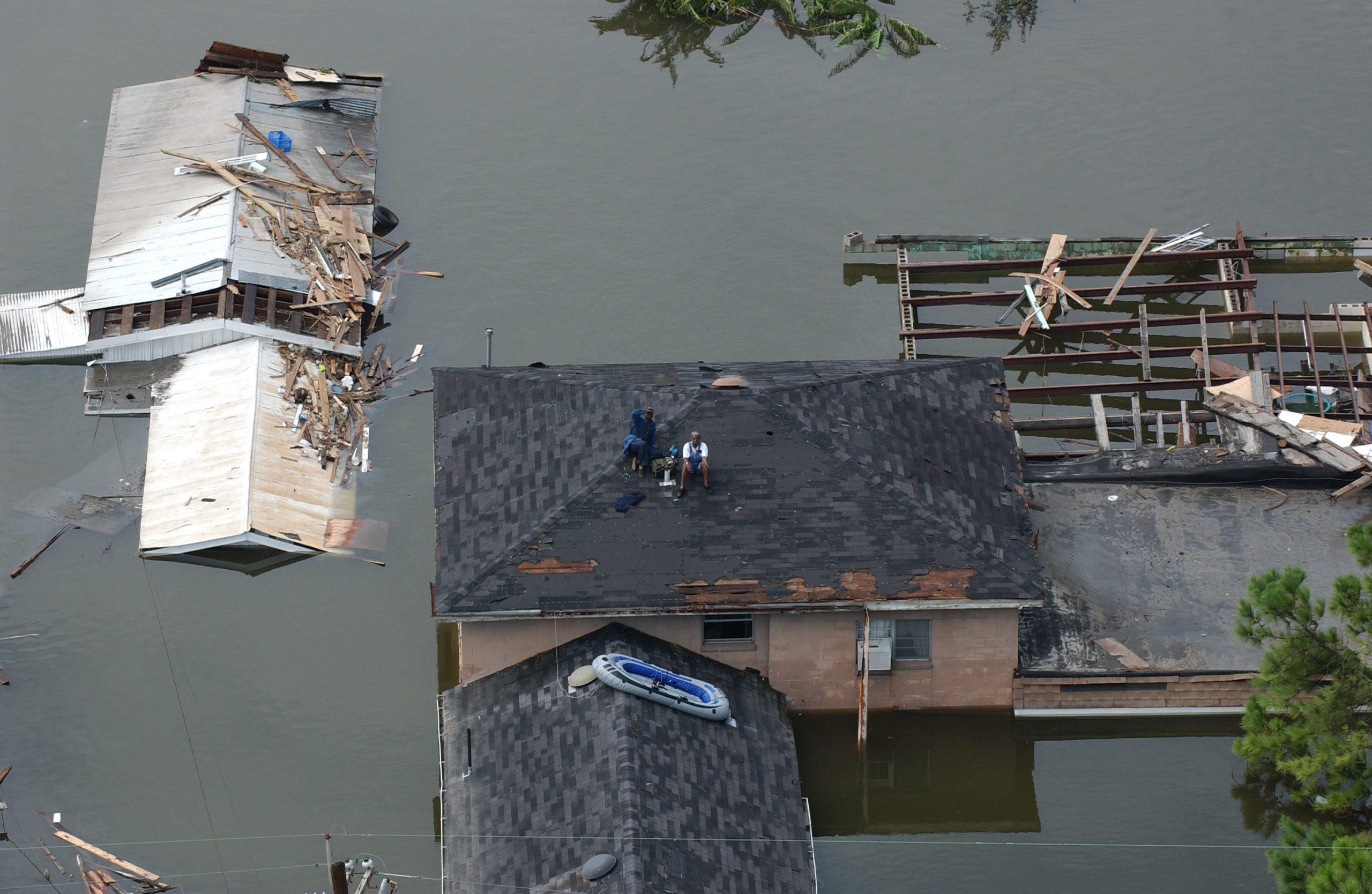 Hurricane Katrina, New Orleans, August 2005