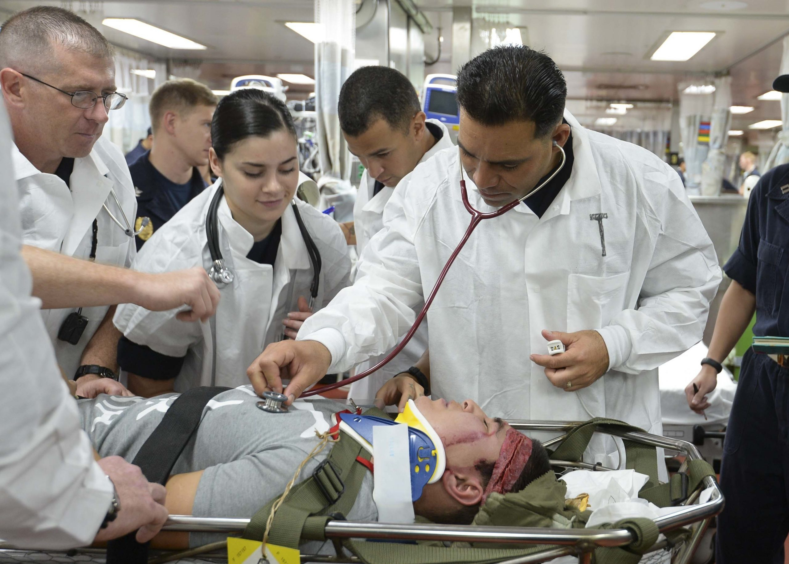 drill, mass casualty exercise