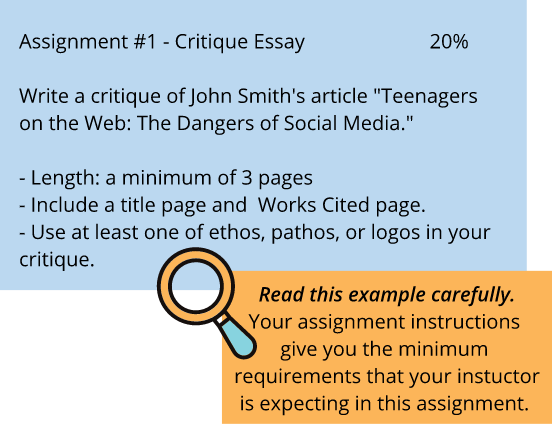 Sample Assignment Text