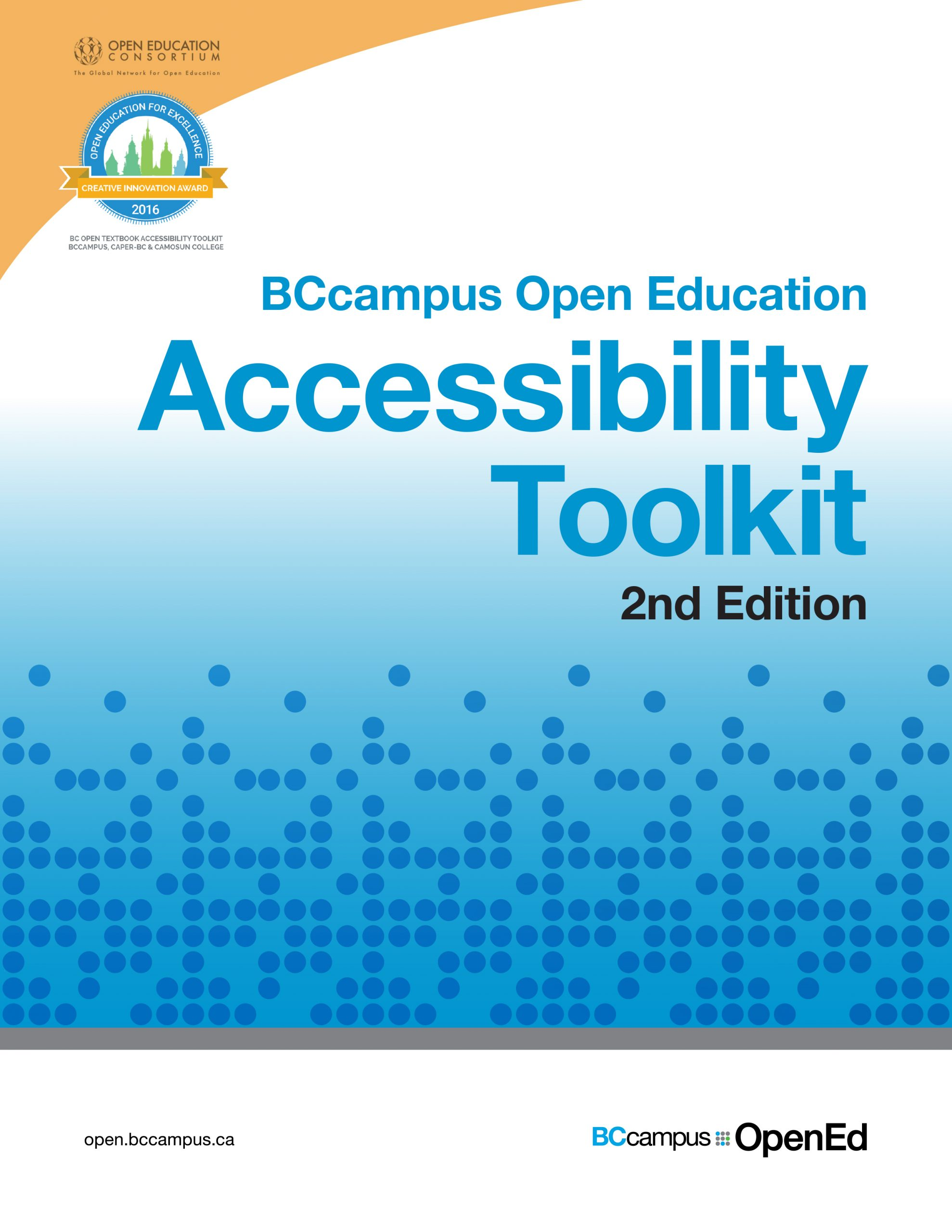 Cover image for Accessibility Toolkit - 2nd Edition